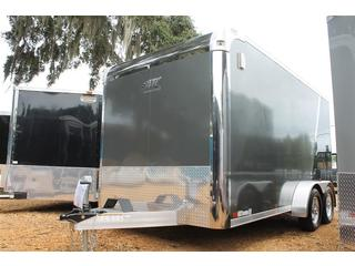 Enclosed Aluminum Motorcycle Trailer