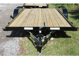 Car Hauler with Pine Deck