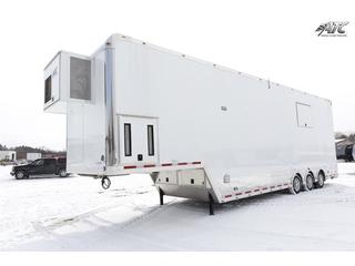 Stacker Trailer with Liftgate