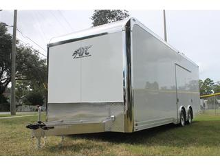 Aluminum Car Hauler with Escape Door