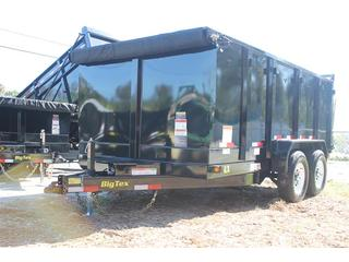 Dump Trailer with Combo Gate