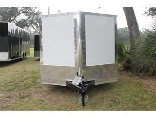 Car Trailer with Spring Assist Rear Ramp
