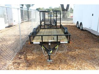 Utility Trailer with 4 ft Ramp